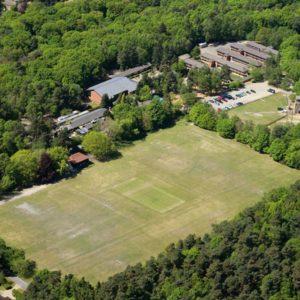 Летний лагерь в Marchants Hill - вид сверху