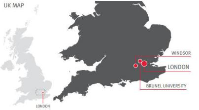 институт на карте Англии