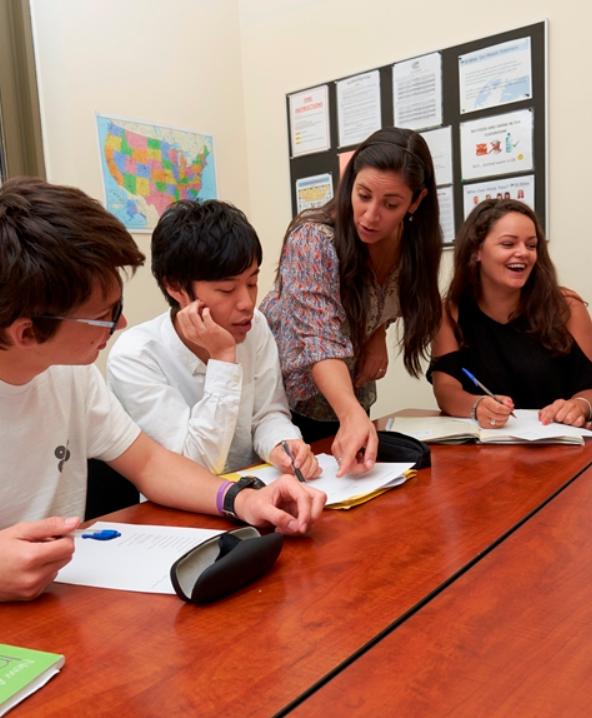 Языковая школа в Нью-Йорке