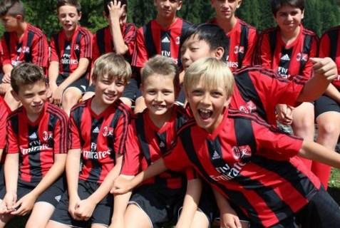 Футбольный лагерь в милане